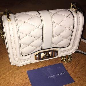 Rebecca Minkoff Quilted Mini Love Crossbody Bag